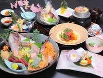 【NEW・春】おいでませ長州山口へ!ぶちうまいっちゃ!贅沢、満喫、桜鯛。~桜鯛の宴より~