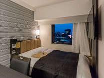 シングルルーム/ダブルルーム(広さ11平米/ベッド幅140cm)