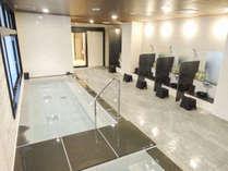 【天然温泉スパ】天然温泉大浴場を併設 宿泊者様は無料でご利用頂けます。