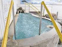 ◆旭川市内を見渡せる展望露天風呂