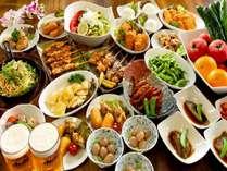 【ビアガーデン料理写真♪】約30種類のバイキングが120分食べ飲み放題♪