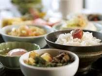 【朝食一例】会津といえば美味しいごはん!「お客様に最高のごはんを。」