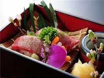 【追加料理】牛あぶり寿司