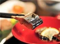 【夕食一例】『鰊の山椒漬け』会津の三大郷土料理の一つです。