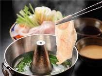 【健育美味豚 豚しゃぶ】通常よりもビタミンEが豊富な福島県産の健育美味豚を使用した豚しゃぶです。