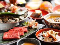 【夕食一例】創作会津郷土料理会席。