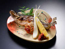 【追加料理】鮎の塩焼き