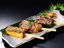 【追加料理】会津三大郷土料理の味噌田楽三種盛り