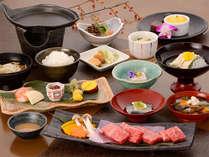 【夕食一例】旬の食材を使用した会津郷土料理会席。