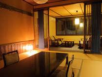 【木の温もりが心地よい和室】10~12畳 バス・トイレ付 一例