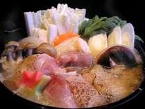 【冬季限定 会津地鶏鍋】会津地鶏を使用した特製味噌鍋!冬といったら鍋ですね♪