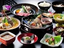 【夕食一例】郷土料理を、どなたのお口にも合うようにアレンジしました。