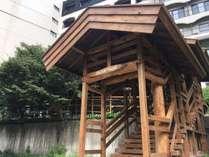 姉妹館 千代滝への湯めぐり路入口(2016年8月にオープン!湯めぐりが3~4分に短縮しました)