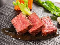 【メインはサーロインステーキ100g!】料理長厳選の上質な霜降り国産牛サーロインステーキ