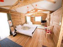 シーアイガ海月から徒歩3分☆ビーチサイドのログハウスで素泊まりプラン【駐車場無料】