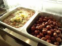 朝食メニュー 「ポトフ&肉団子」 ご朝食は当日の朝でも、ご注文承れます。
