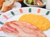 *【朝食】選べる和食の「洋食」バージョン一例です。