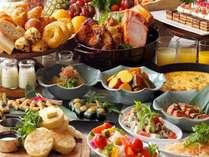 【オールデイダイニング カザの朝食】和洋ビュッフェをたんと召し上がれ♪