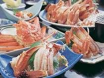 松葉蟹コース カニ三昧料理例