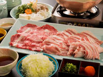 【お食事基本コース】 豚・黒毛和牛のつゆしゃぶコース