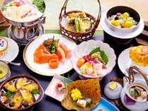 ◆富士川コース◆清らかな富士川の恵みを堪能~厳選素材で季節を味わう!