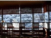 【施設】月見台からの冬景色