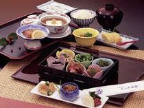 京の和朝食、お豆腐料理付き