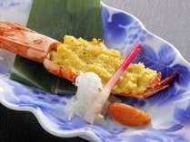 秋のお料理/大海老の丹波焼き