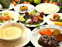 自家製野菜も楽しめる、シェフ自慢の料理!!