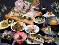 彩り8つの鯛料理☆新鯛づくし会席