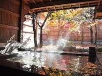 【風呂】貸切風呂は館内4ヵ所。旅の疲れはココでゆっくり癒されよう/例