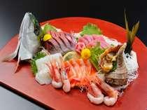 浜料理☆大漁ご膳のお造り