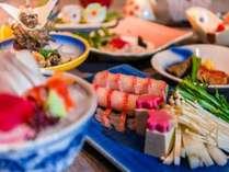 じゃらん限定の土曜日プランのお料理は金目鯛3種類のお料理とサザエの唐揚げが人気。