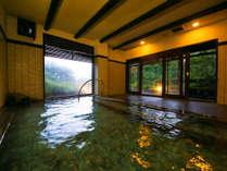 ■天涯の湯-内湯-■ 牧ノ戸温泉は、当館だけでしか愉しめない唯一の温泉