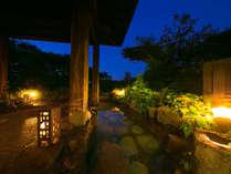 ■天涯の湯-露天-■ 自然をそのままに、ただあるがままの中に佇む温泉宿をお愉しみいただけます