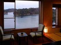 【和室10帖】刻々と変化する松島の景色をお楽しみくださいませ。