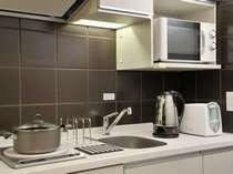 キッチン(キッチン用具・食器完備)