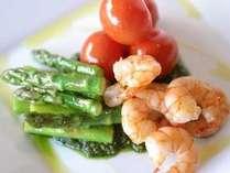 5種類の調味料が選べる!カスタマイズお料理満喫プラン