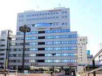 高崎アーバンホテル外観(高崎駅西口より
