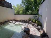 大涌谷源泉のにごり湯!露天風呂は最高です。