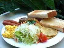 *【朝食ワンプレート】朝食のご予約は前日の22:00までに朝食券を購入する形となっております(別途810円)