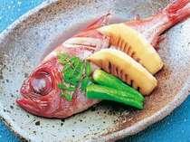 金目鯛姿煮お料理一例