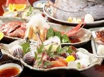 【高速バス片道料金3500円キャッシュバック!】満腹のボリューム磯料理◆2名様~マグロの兜焼き付き◆