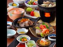 山形の美味と旬の食材を詰め込んだ彩鮮やかな夕食「山形うまいもの御膳」