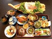 【舟盛りコース】瀬戸内海産の獲れたてを和膳に仕立てました♪(季節によって異なります)