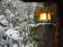 2011雪景色の黒川荘風景