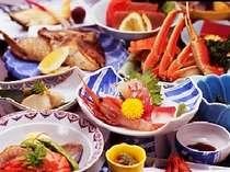 【部屋食or個室食事処確約】 鯛のカブト揚げが大好評! 日本海の幸満載 ほのぼの日本海プラン♪