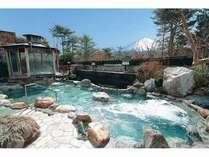 ゆらり(霊峰露天風呂)富士の強い龍脈(エネルギー)を水に溜め、健康、財運、愛情運をもたらします。