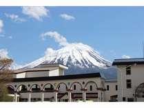 富士山が間近くに望める施設です。