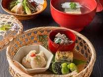 【5~7月のオススメプラン♪】初夏の素材を使用した、『滋養』がテーマの旬菜会席です。